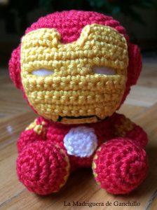 Iron Man – La Madriguera de Ganchillo | 300x224