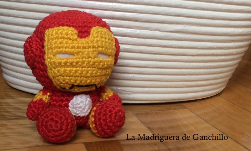 Iron Man Amigurumi foto