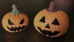 Calabaza Halloween amigurumi 2